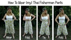 (my) Thai fisherman pants - Confessions of a Refashionista