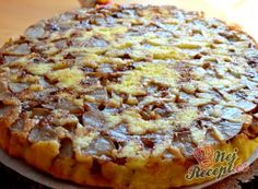 Hawaiian Pizza, Graham Crackers, Sweet Recipes, Quiche, Dessert Recipes, Food And Drink, Fruit, Cooking, Cake