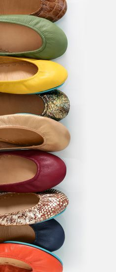 Fall color inspiration! #tieks