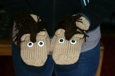 Horse mittens (6 years and up) $20 - Contact lcosta@andrewswireless.net to purchase