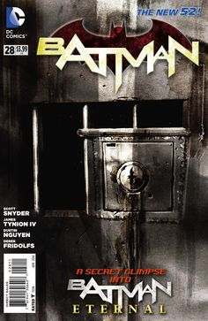 The cover to Batman #28 (2014), art by Dustin Nguyen