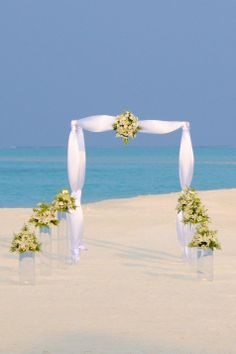 Largest online supplier of wholesale wedding supplies, personalized wedding decorations, personalized favors, DIY wedding centerpieces and DIY party supplies. Wedding Reception Design, Wedding Set Up, Seaside Wedding, Chic Wedding, Elegant Wedding, Destination Wedding, Dream Wedding, Beach Weddings, Reception Entrance