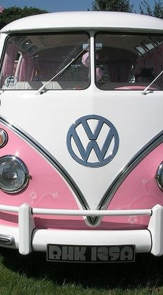 When I was little, I always wanted a Pink VW as my first car.