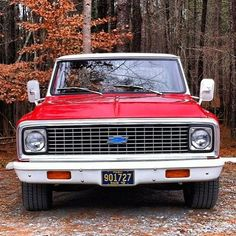 """Old Chevy. I currenty have """"Mr. Green"""" a 1972 1-ton dually with a dump box... he's a heavy hauling beast that will not die by conventional means!!"""