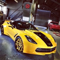 BABY--------- I absolutely Love this Vette. It's different and that's what I like about it the most. I hope you like it too. I'd buy it in a heartbeat. Widebody Corvette C7