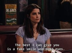 Image shared by *Padfoot. Find images and videos about how i met your mother, himym and Barney Stinson on We Heart It - the app to get lost in what you love. How Met Your Mother, Robin Scherbatsky, Netflix, Instagram Captions For Selfies, Ted Mosby, Character Quotes, Music Mood, Fake Smile, Himym