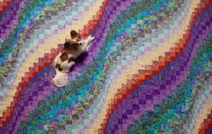 The Bargello Quilt: Free pattern and instructions - Ready and Thriving