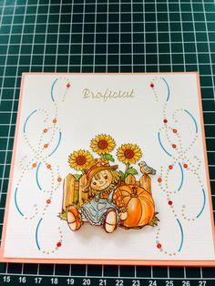 Verjaardagskaart herfst (hobby dots)