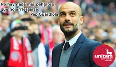 Uno de los mejores entrenadores de fútbol y motivadores de los últimos tiempos. #Motivación #Frases Pep Guardiola
