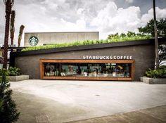 >>>Cheap Sale OFF! >>>Visit>> The Starbucks Green Roof Downtown Disney Walt Disney World; Photo Courtesy of Starbucks Design Exterior, Facade Design, House Design, Downtown Disney, Disneyland Orlando, Orlando Florida, Burger Bar, Retail Architecture, Architecture Design