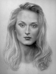 Meryl Streep by SilviaReis