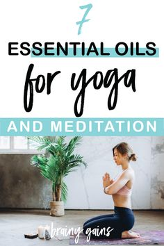 Essential oils can add so much to your yoga and meditation practice. Here are the top essential oils for yoga and meditation. Yoga Fitness, Health Fitness, Top Essential Oils, Yoga For Runners, Yoga For Flexibility, Online Yoga, Meditation Practices, Yoga For Weight Loss, Yoga Routine