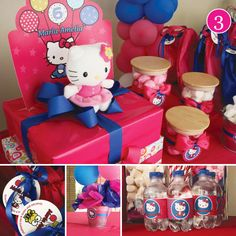 {Party of 5} Halloween Party, Beachy Pink Picnic, Hello Kitty Pool Party, Back to School & Pink Bridal Shower