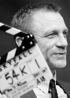 "Daniel Craig on the set of ""Skyfall"" (2012). The best Bond since Sean Connery."