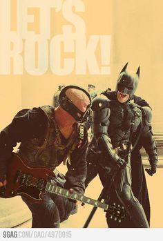 """designeroo:  tomb-zomb:  When Gotham Is Ashes You Have My Permission To ROCK  asdklñjgklñsjklgdas  hahahaha XDDD  """