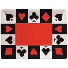 Casino Party, Casino Parties, Card Night Plastic Trays