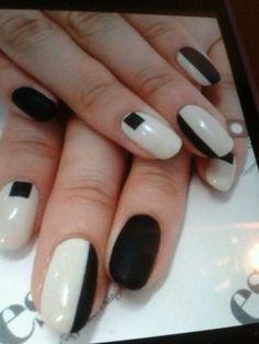 Negras y blanco