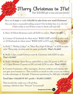 Holiday Selling Ideas & Scripts