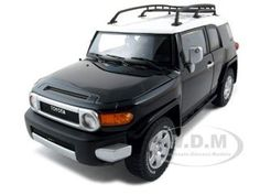 Special Offers Available Click Image Above: Toyota Fj Cruiser Diecast Car Model 1/18 Black Die Cast Car By Autoart