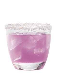 The Snowball    (3 oz. Hpnotiq   1 oz.Coconut Vodka)