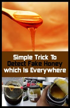 Easy trick to detect the Fake Honey (Everywhere) Health And Fitness Tips, For Your Health, Health And Wellbeing, Health Benefits, Get Healthy, Healthy Tips, Healthy Choices, Happy Healthy, Fake Honey