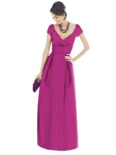 Alfred Sung Bridesmaid dress - style D503, in Fruit Punch