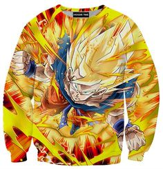 Dragon Ball Z Hoodies - Super Saiyan Goku Hoodie - DBZ 360 Clothing