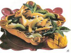 vcielkaisr-mojerecepty: Šalát z exotického ovocia s pistáciami