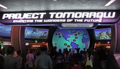 The secret history of Epcot's Spaceship Earth.