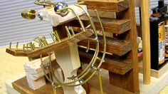 Marble Maze, Marble Runs, Rolling Ball Sculpture, Mechanical Projects, Marble Machine, Marble Stairs, Cardboard Toys, Simple Machines, Wood Toys