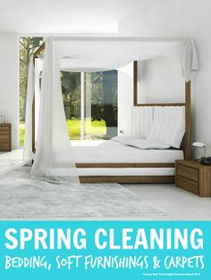 Spring Cleaning Bedding, Soft Furnishings and Carpets