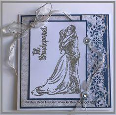Enda et bryllupskort Copic Markers, Wedding Cards, Frame, Decor, Decoration, Decorating, A Frame, Dekorasyon, Frames
