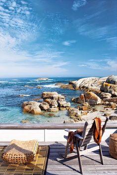 Une maison de plage en Afrique du Sud