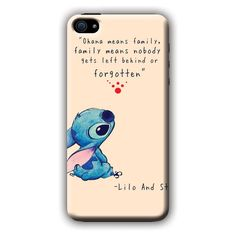 Lilo And Stitch (Ohana tan) iPhone 6 i6 Case ($97) ❤ liked on Polyvore featuring accessories and tech accessories