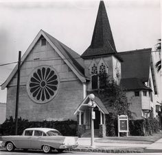 Grace Church - SE corner of Fourth and Park (1957) by 47specialdeluxe, via Flickr
