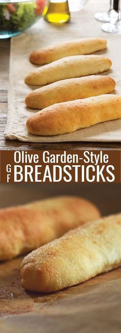 Soft Gluten Free Breadsticks