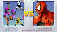 Sasquatch And The Foot Ninja VS SpongeBob SquarePants & Spider-Man In A MUGEN Match / Battle / Fight This video showcases Gameplay of Spider-Man The Superhero And SpongeBob SquarePants VS The Foot Ninja From The Teenage Mutant Ninja Turtles / TMNT Series And Sasquatch In A MUGEN Match / Battle / Fight