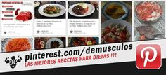 Publicidad de DeMusculos.com para la red social de imágenes PINTEREST