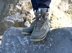 Nike Lunar Force 1 Duckboot Medium Olive/ Medium Olive - 805899-201
