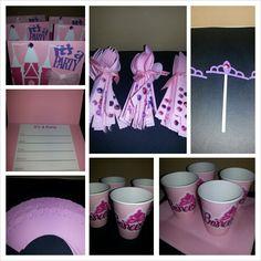 Princess birthday party kit
