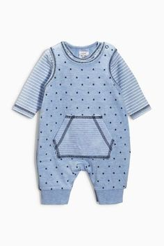 Buy Blue Star Dungarees Set (0-18mths) online today at Next: United States of America