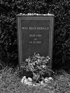 No-one interested in notions of landscape and hauntology can fail to have been influenced in some way by the works of WG 'Max' Sebald.