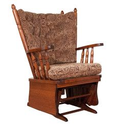 Amish Four Poster Glider Amish Children's Furniture Collection Amish Rocking Chairs, Glider Rocking Chair, Childrens Rocking Chairs, Amish Furniture, Online Furniture, School Furniture, Kids Furniture, Baby Design, Glider Cushions