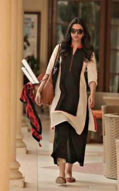 Deepika Padukone's Delhi-Girl Look In 'Piku'. #Bollywood #Fashion #Style #Beauty
