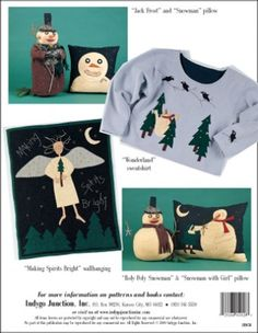 Making Spirits Bright – IJ1026 sewing pattern book from IndygoJunction.com