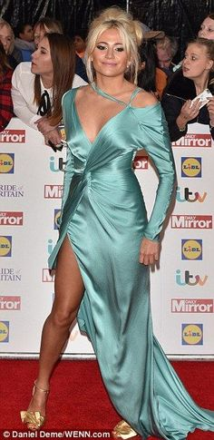 Nice Red Carpet Fashion Pixie Lott suffers a rare fashion fail at the Pride of Britain Awards