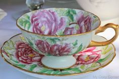 My Cozy Corner: Tea Cup Hammersley and Co