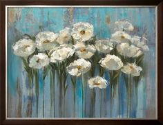 Anemones by the Lake Print by Silvia Vassileva at Art.com