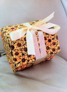 Have had some amazing raffle prizes donated!  This is a handmade box from Kateiain Krafts