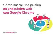 Puede parecer una tontería y hacerlo es muy sencillo. No solo eso, puede facilitarte mucho las cosas si necesitar buscar una palabra o frase exacta en una página #web. #Google #Chrome #Buscador http://www.yoseomarketing.com/blog/como-buscar-palabra-pagina-web-google-chrome/